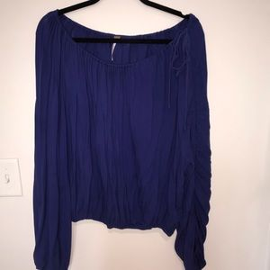 Balloon sleeve free people top